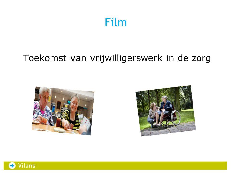 Film Toekomst van vrijwilligerswerk in de zorg