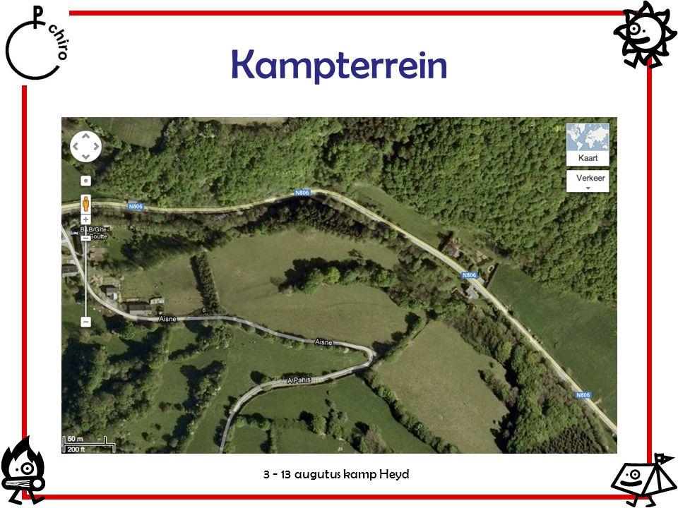Kampterrein 3 - 13 augutus kamp Heyd
