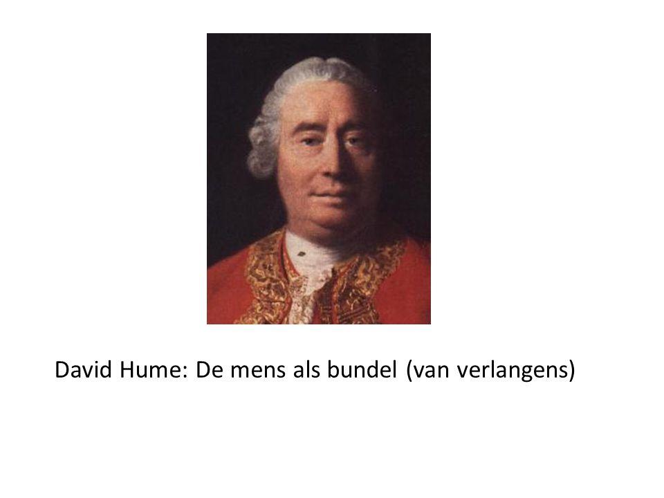 David Hume: De mens als bundel (van verlangens)