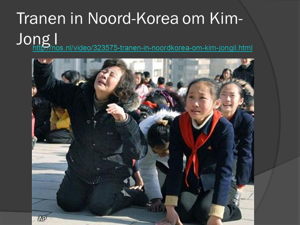 Tranen in Noord-Korea om Kim- Jong I http://nos.nl/video/323575-tranen-in-noordkorea-om-kim-jongil.html