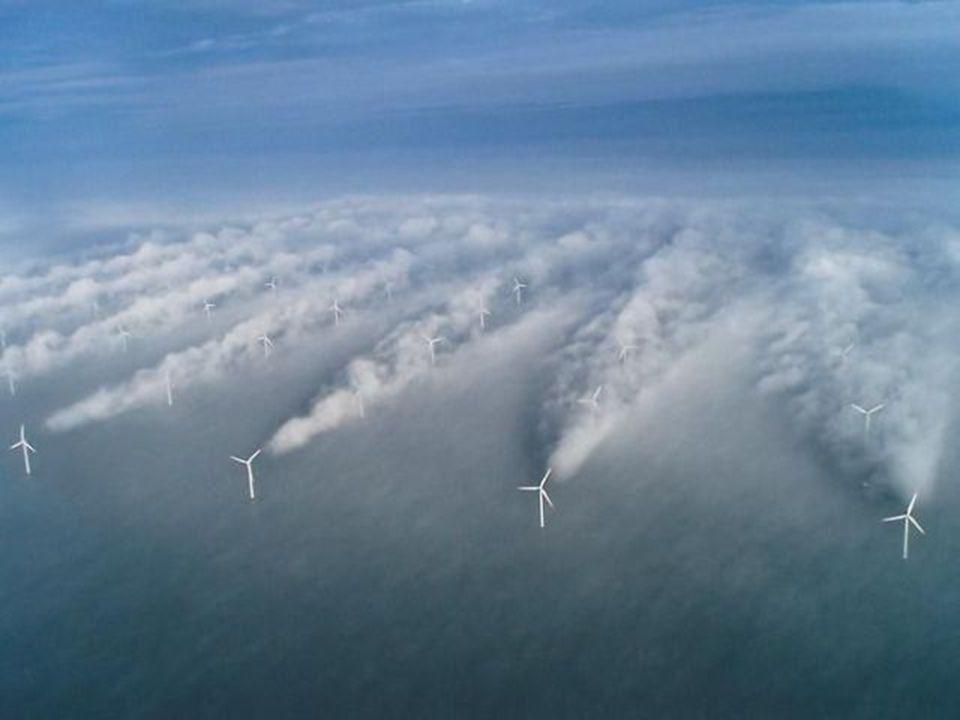 •Windenergie van een windpark –Wat is de oppervlakte van het gebied.