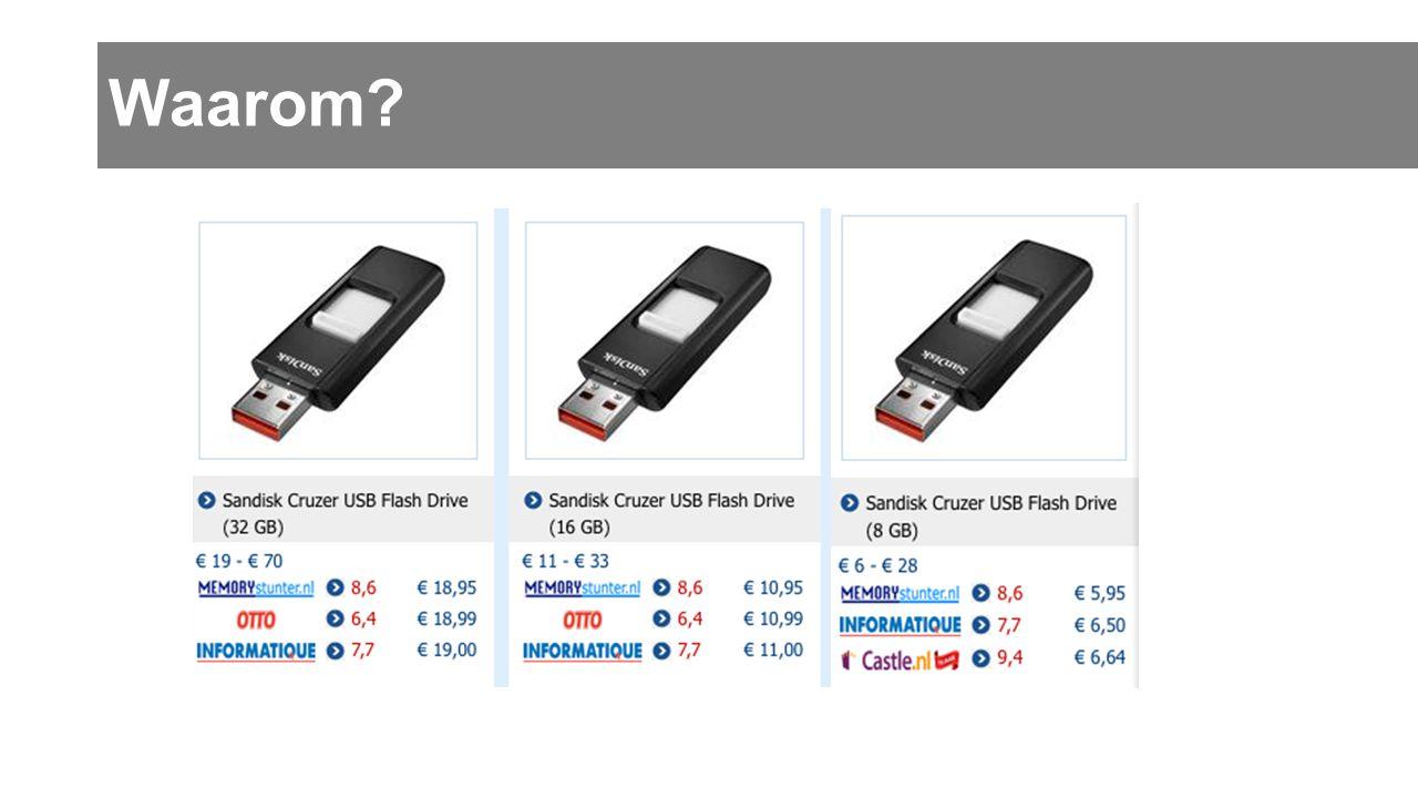 Eenheden •Om gegevens te onthouden: snel veel bits nodig!