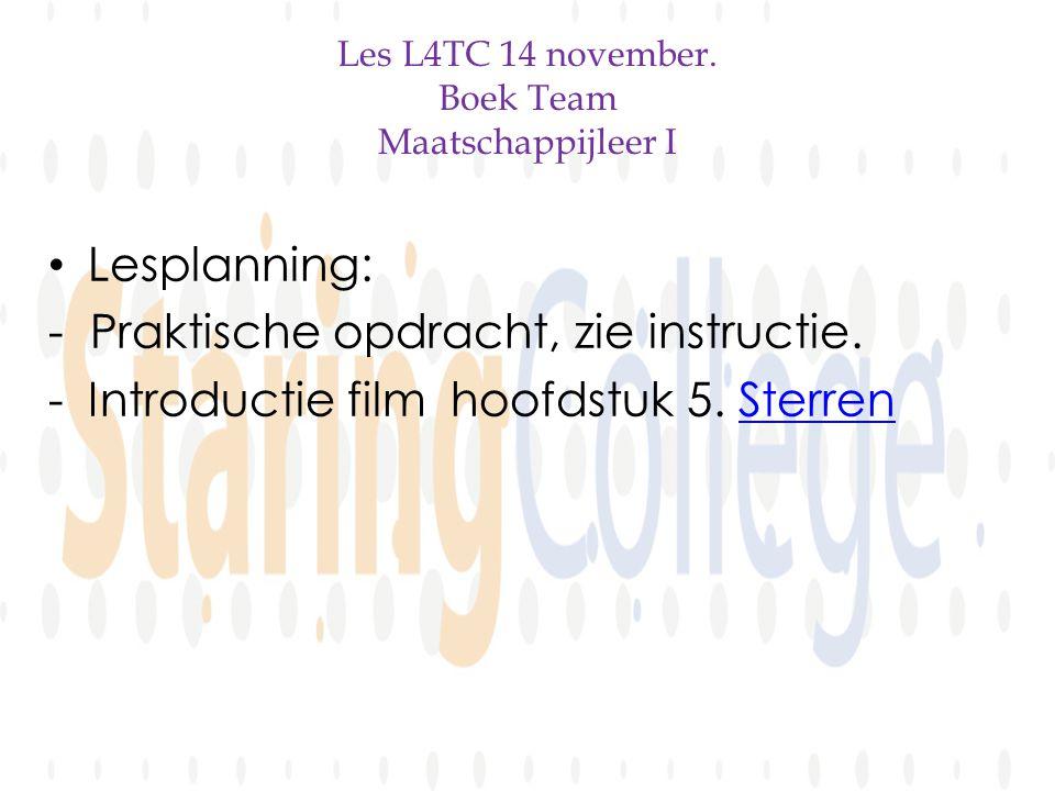 Les L4TC 14 november.