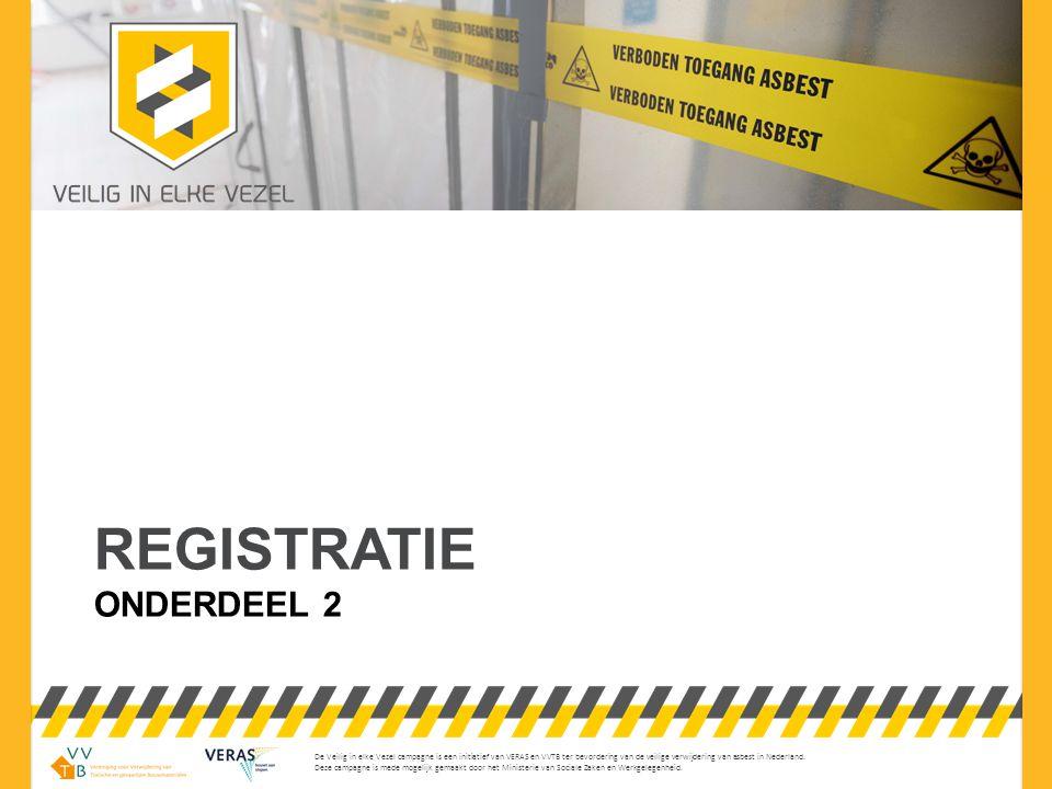 De Veilig in elke Vezel campagne is een initiatief van VERAS en VVTB ter bevordering van de veilige verwijdering van asbest in Nederland. Deze campagn