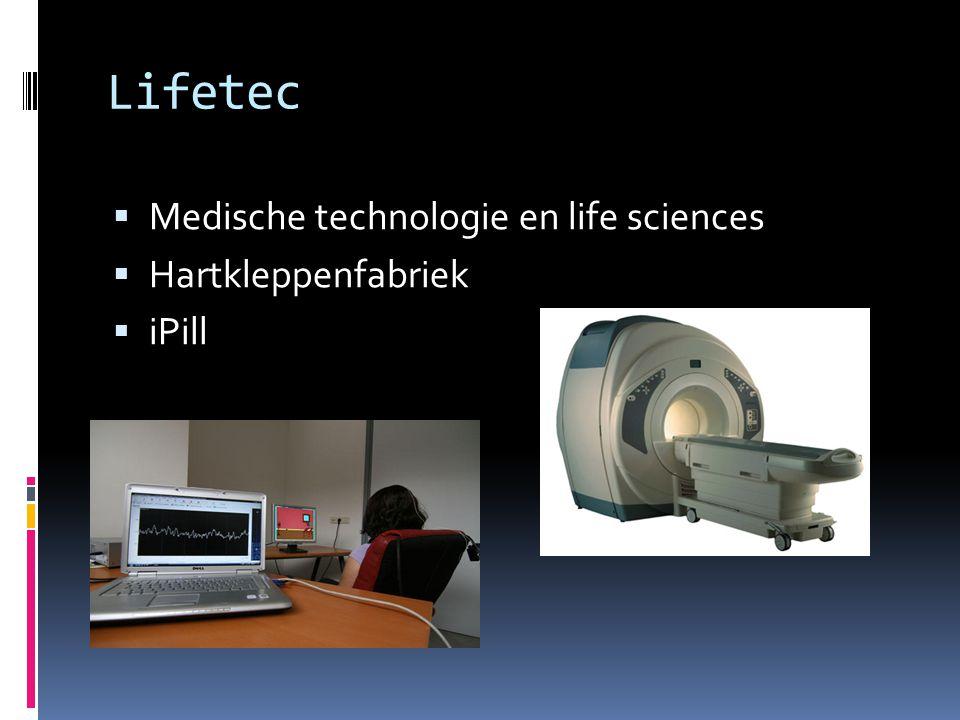 Lifetec  Medische technologie en life sciences  Hartkleppenfabriek  iPill