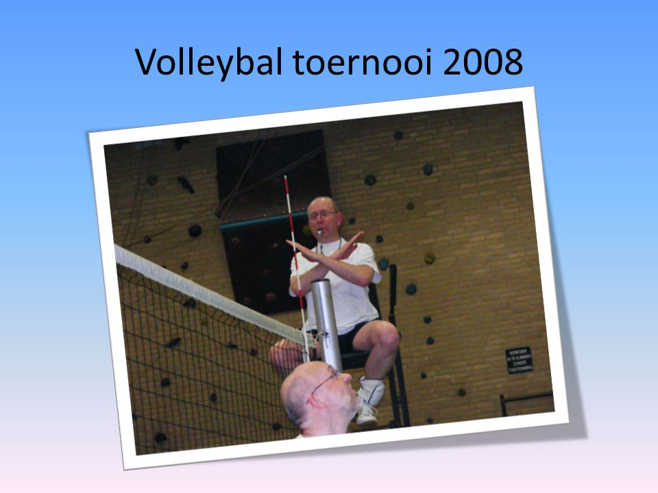 Volleybal toernooi 2008