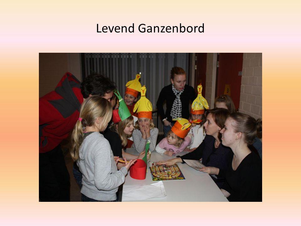 Levend Ganzenbord