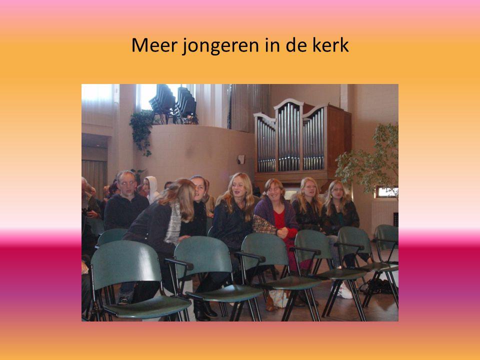 Meer jongeren in de kerk