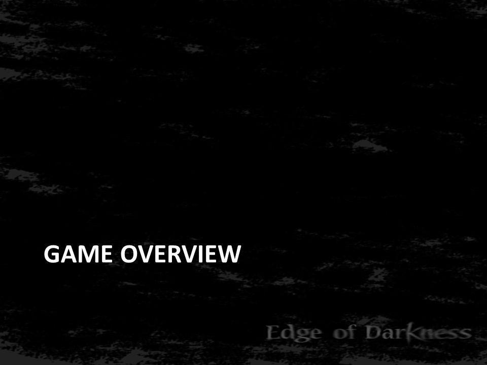 Game Overview: Concept • Psychologische survival horror • Nyctofobie • Overleven • Puzzels • Inspiratie – Silent Hill, Fatal Frame – Shutter Island, Pan s Labyrinth