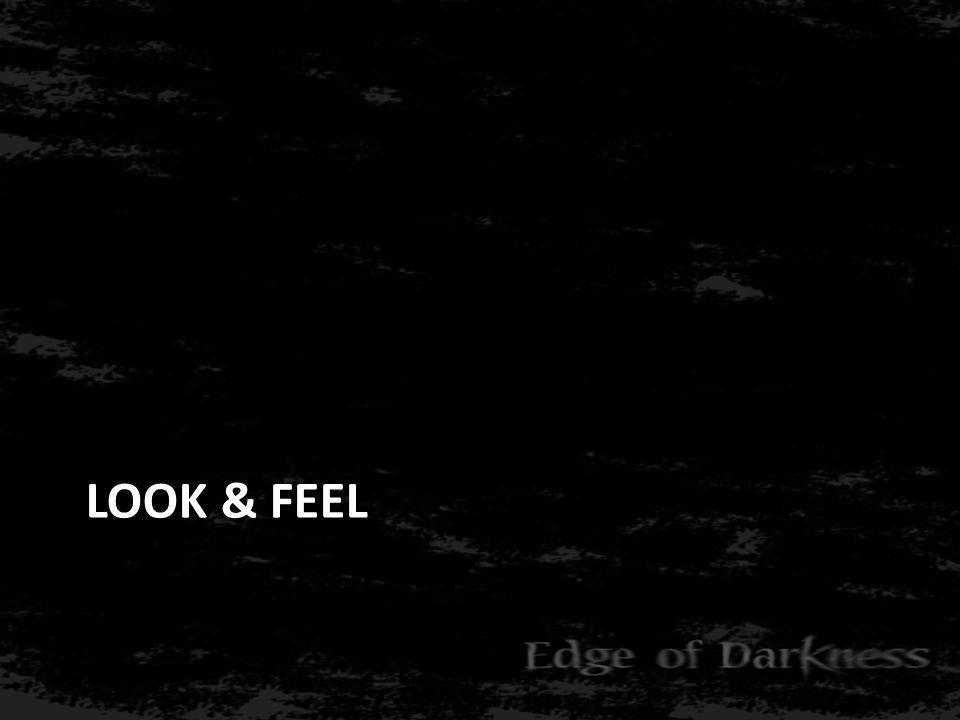 Look & Feel: Graphics • Fantastisch realisme • Dag-nacht cyclus