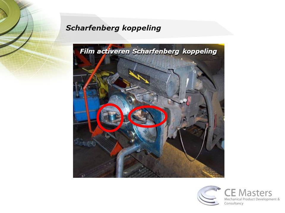 Film activeren Scharfenberg koppeling