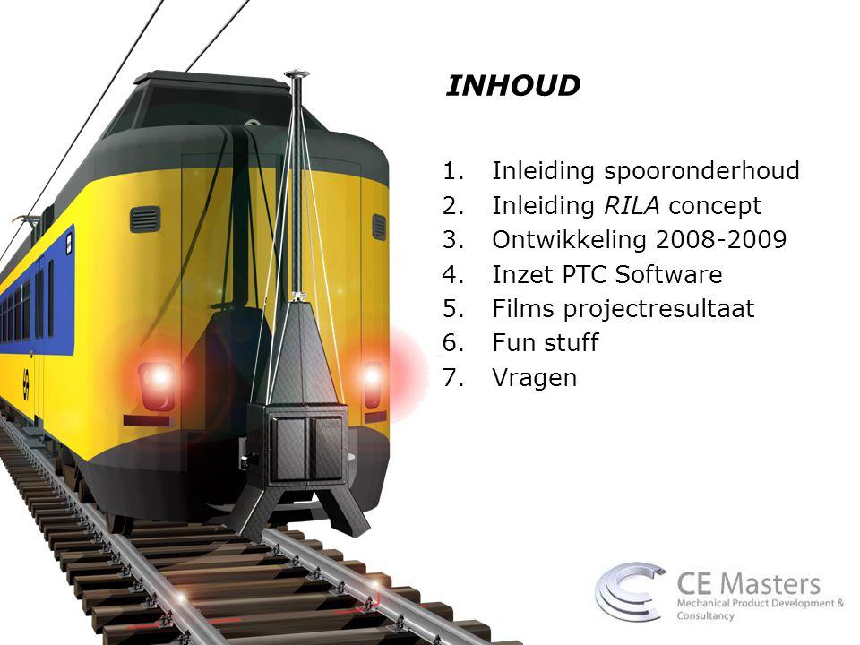 CREDITS Concept Jos Berkers (Raildata BV) Mechanical development Corstiaan Hage (CE Masters) Dennis Vervoorn (CE Masters) Met bijdragen van Theo Wijers (CE Masters), Martin Scheltens (NedTrain), Dick van Loon (Geton Roestvrijstaalindustrie), Niels Haarbosch (NPSP Composieten), Rinze van der Schuit (EasyRigging), en vele vele anderen…