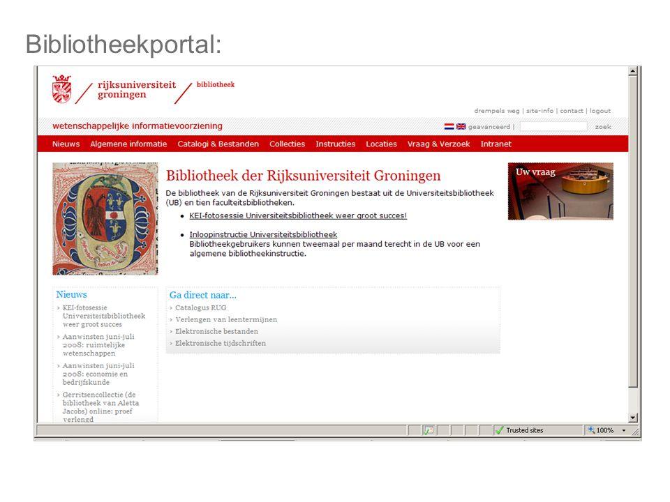 Bibliotheekportal: