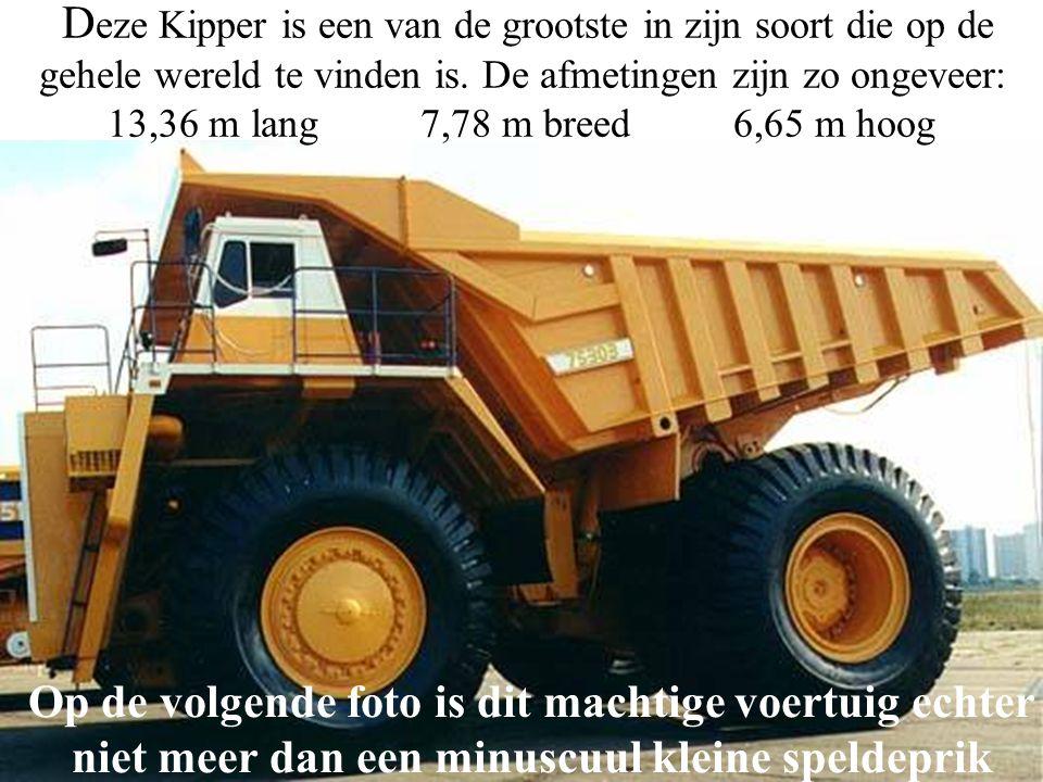 D eze Kipper is een van de grootste in zijn soort die op de gehele wereld te vinden is.