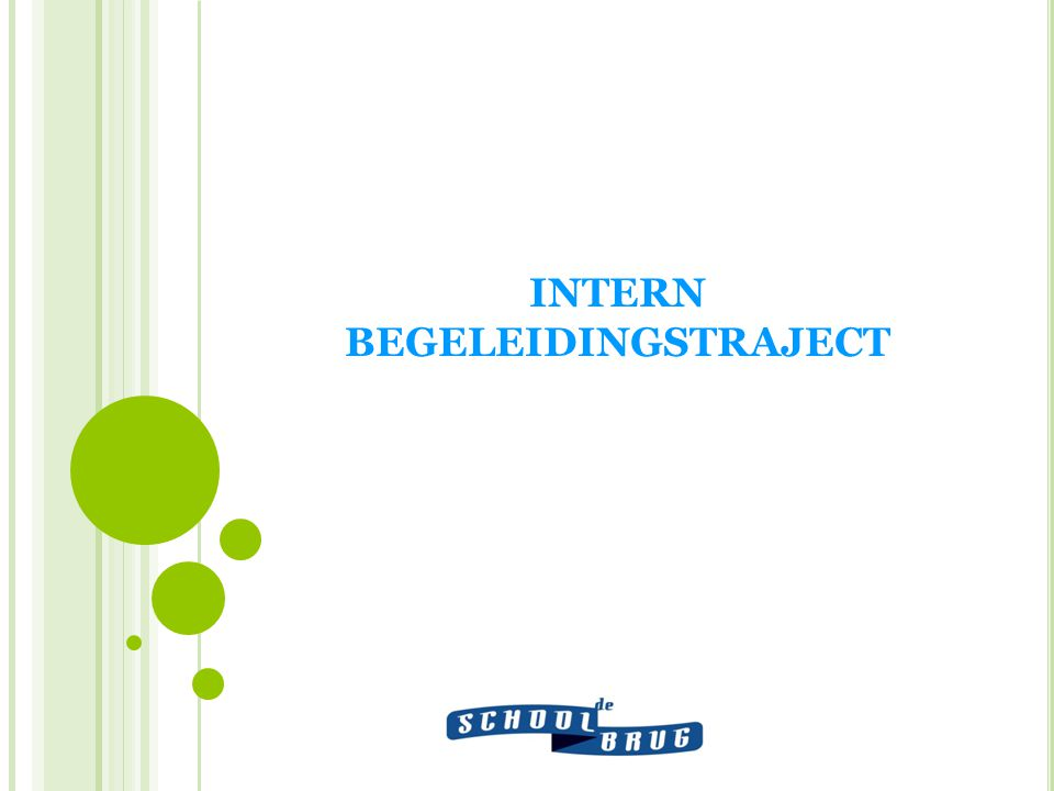 INTERN BEGELEIDINGSTRAJECT