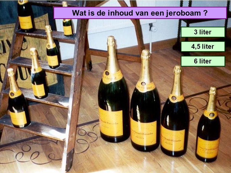 Welk land is de grootste invoerder van champagne ? Amerika Japan Engeland