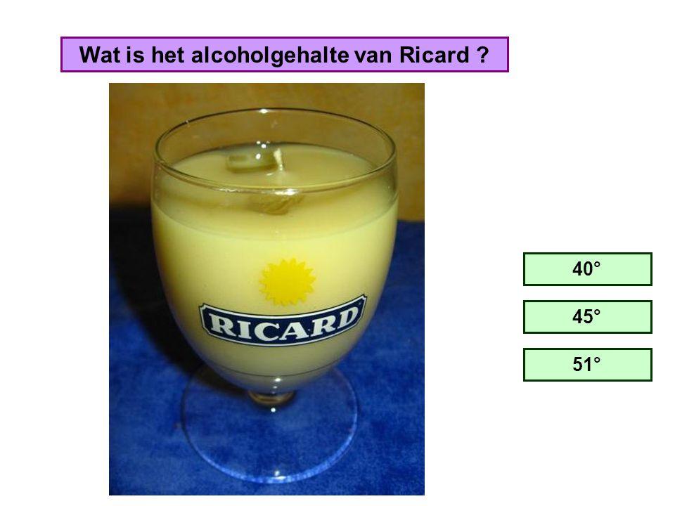 Hoeveel liter Ricard wordt er jaarlijks verkocht in de ganse wereld ? 9 miljoen 29 miljoen 49 miljoen