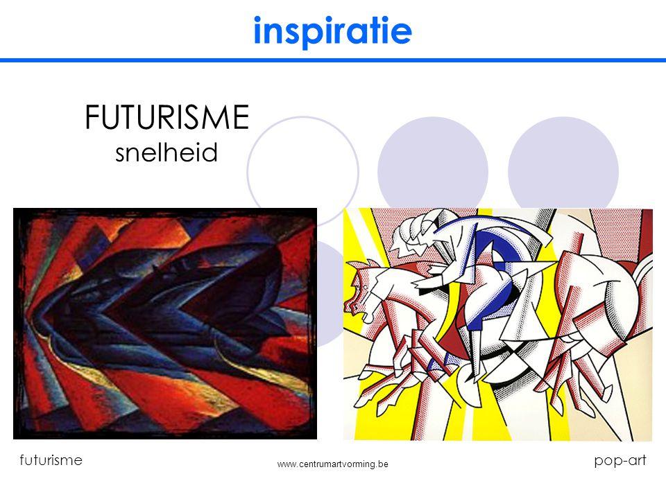 www.centrumartvorming.be inspiratie KUBISME collage kubisme pop-art