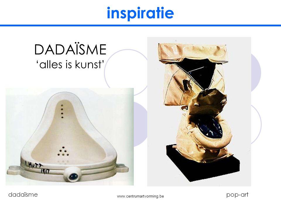 www.centrumartvorming.be inspiratie SURREALISME verlangens surrealisme pop-art