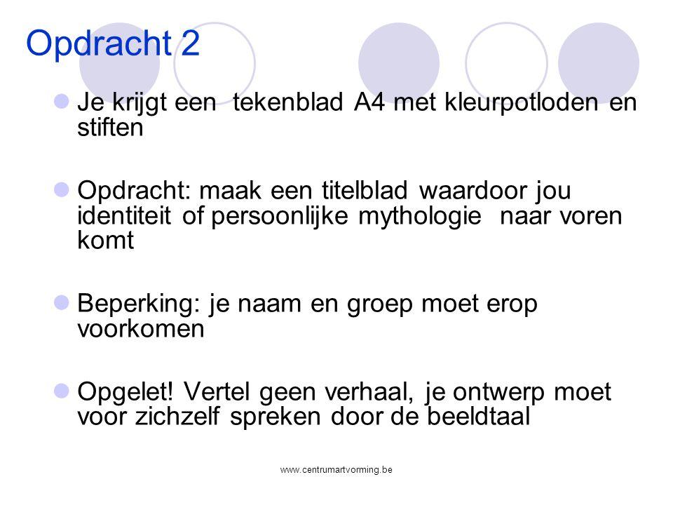 www.centrumartvorming.be 1.2 STABIEL EN LABIEL 1.3 STATISCH EN DYNAMISCH 2 COMPOSITIE: 2.