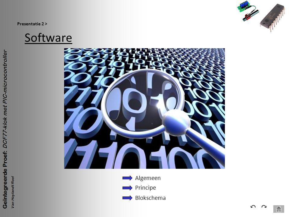 Software Presentatie 2 > ⃕⃔ Algemeen Principe Blokschema