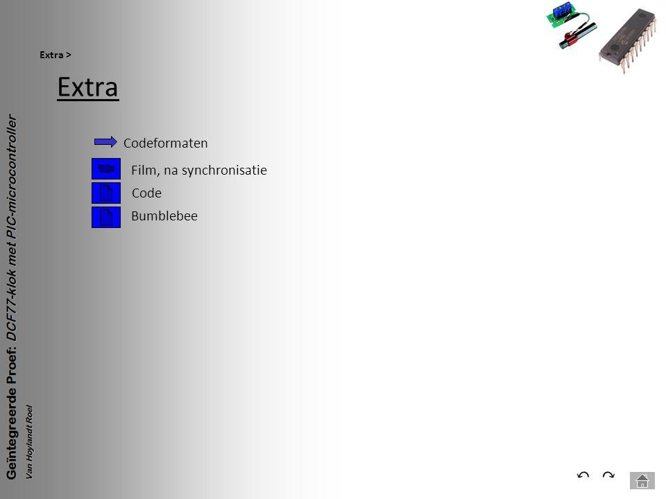 Extra Extra > ⃕⃔ Codeformaten Film, na synchronisatie Code Bumblebee