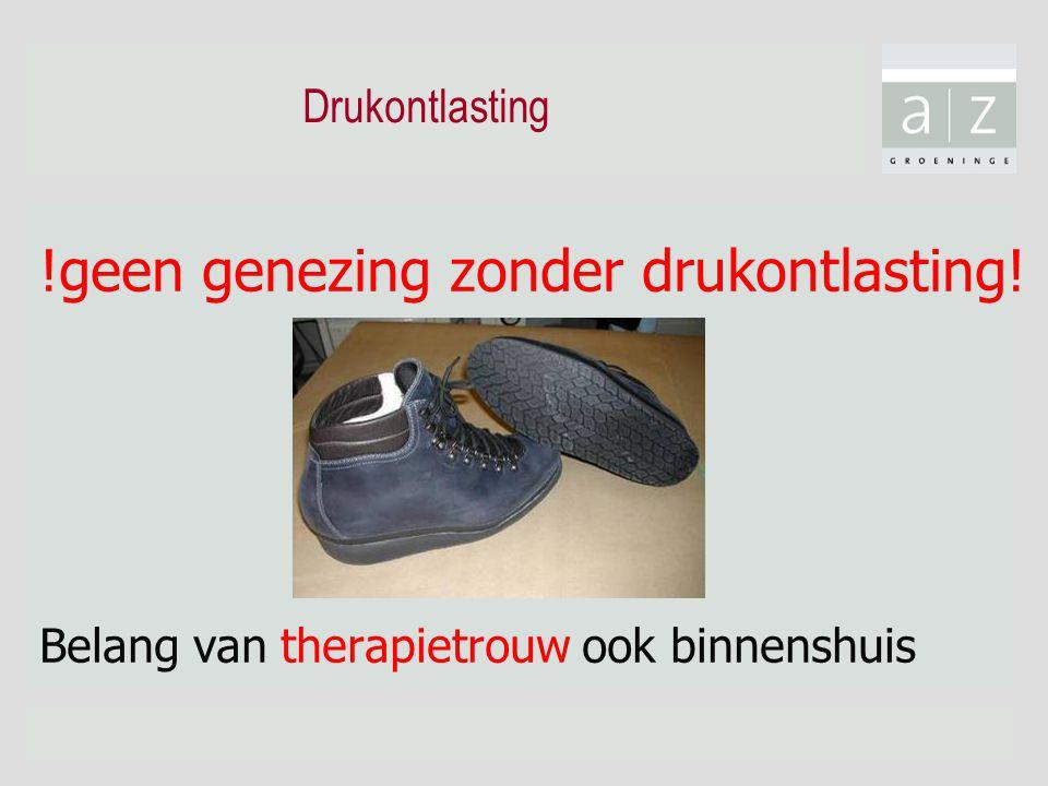 Drukontlasting !geen genezing zonder drukontlasting! Belang van therapietrouw ook binnenshuis