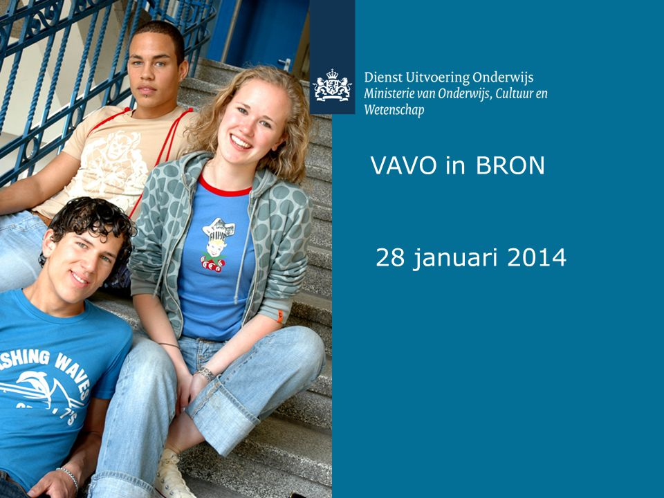 VAVO in BRON 28 januari 2014