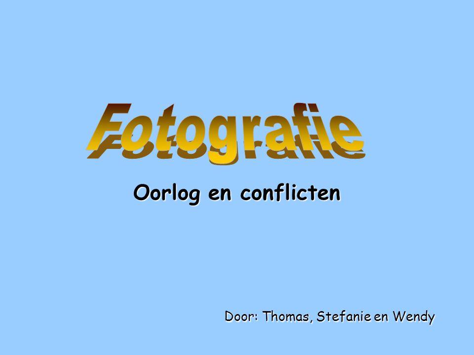 Inhoud •1) Wat is fotografie.