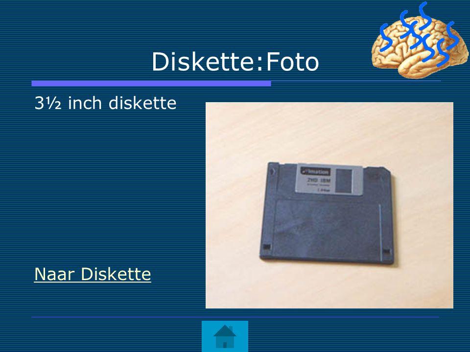 Diskette:Foto 3½ inch diskette Naar Diskette