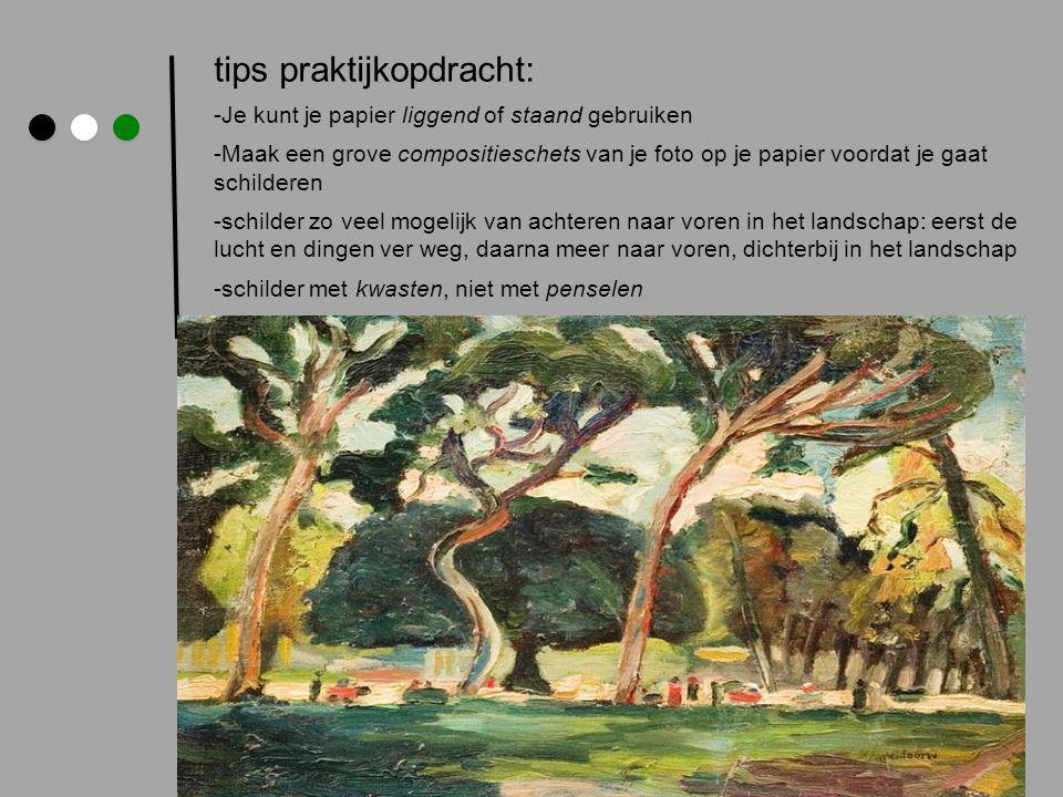 tips praktijkopdracht: -Je kunt je papier liggend of staand gebruiken -Maak een grove compositieschets van je foto op je papier voordat je gaat schild