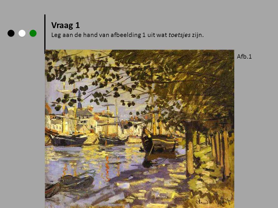 Impressionisme, het begin In 1872 wilde een schilder, Claude Monet meedoen aan de jaarlijkse tentoon- stelling van schilderijen in Parijs.