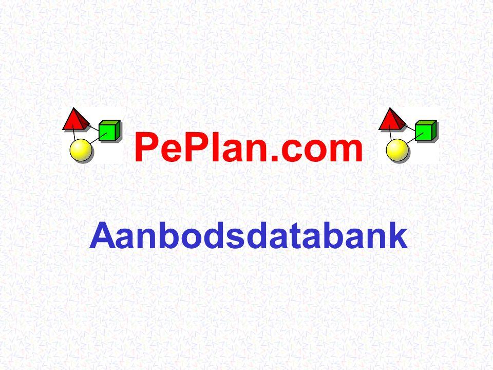 PePlan.com21 Exporteur: op alle mogelijke manieren wordt de informatie over deze plant over gans Europa verspreid.
