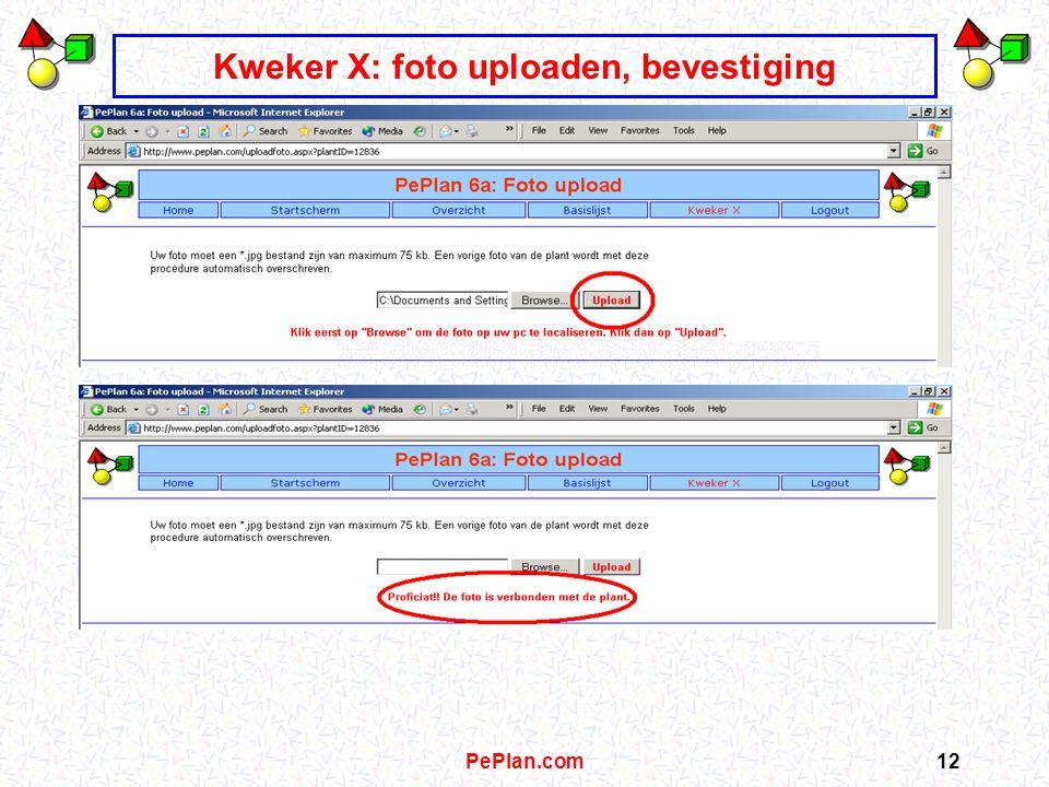 PePlan.com11 Kweker X: foto ophalen op pc