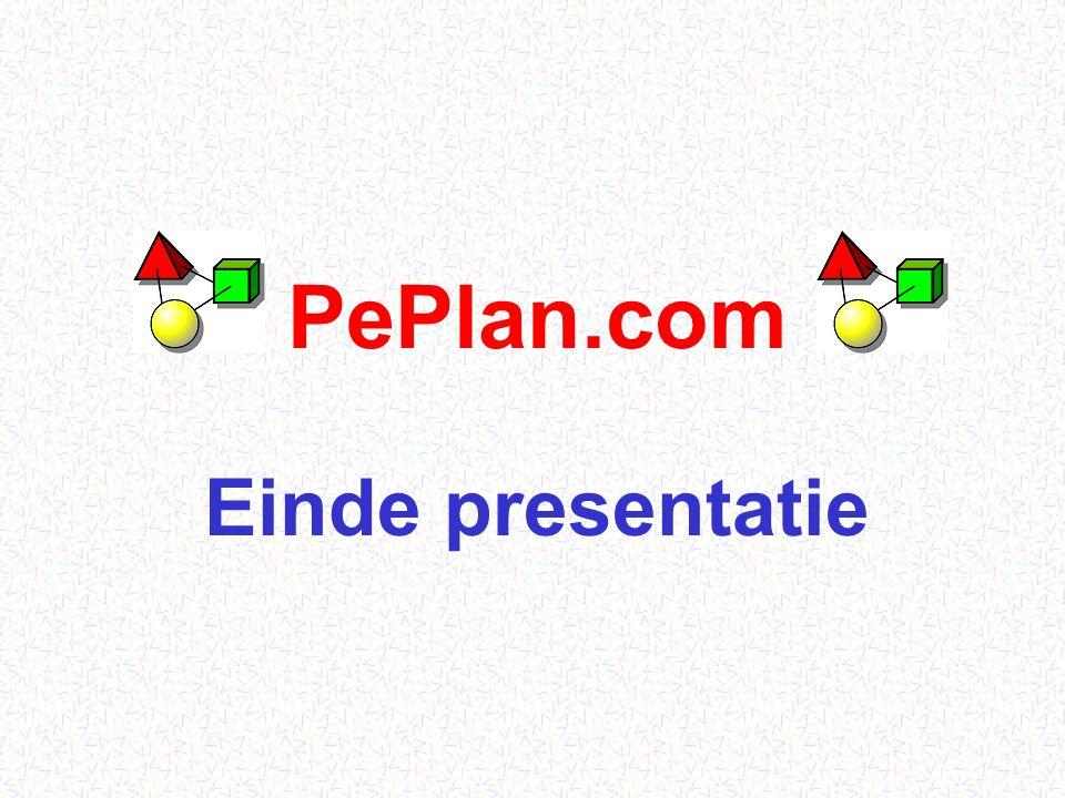 PePlan.com22 Overzicht Leveranciers / Kwekers  PePlan (aanbodsdatabank) Exporteurs / Handelaars  PePlan Klanten in binnen- en buitenland