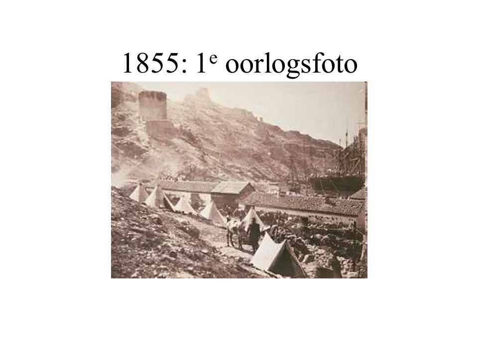 1855: 1 e oorlogsfoto