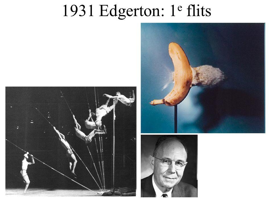 1931 Edgerton: 1 e flits