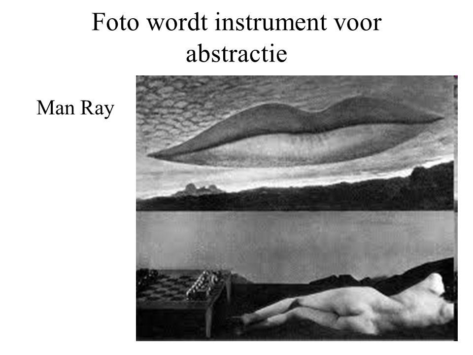 Foto wordt instrument voor abstractie Man Ray