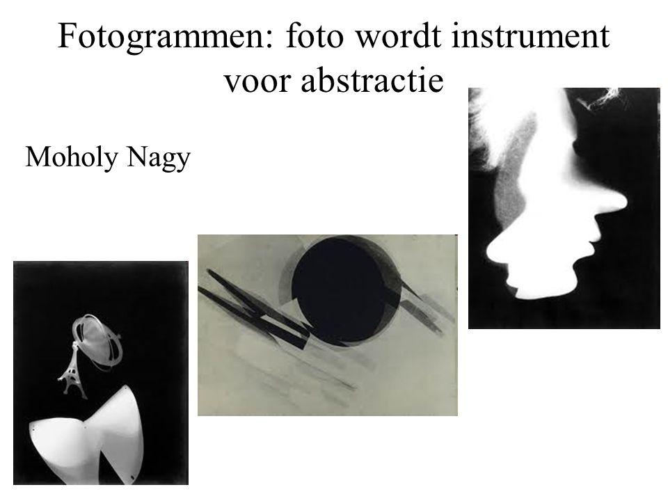 Fotogrammen: foto wordt instrument voor abstractie Moholy Nagy