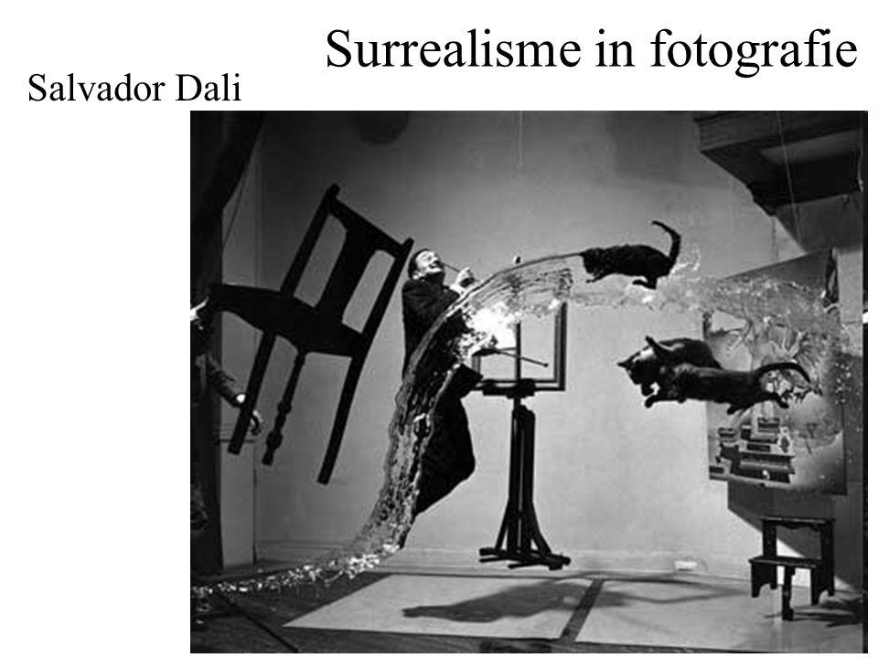 Surrealisme in fotografie Salvador Dali