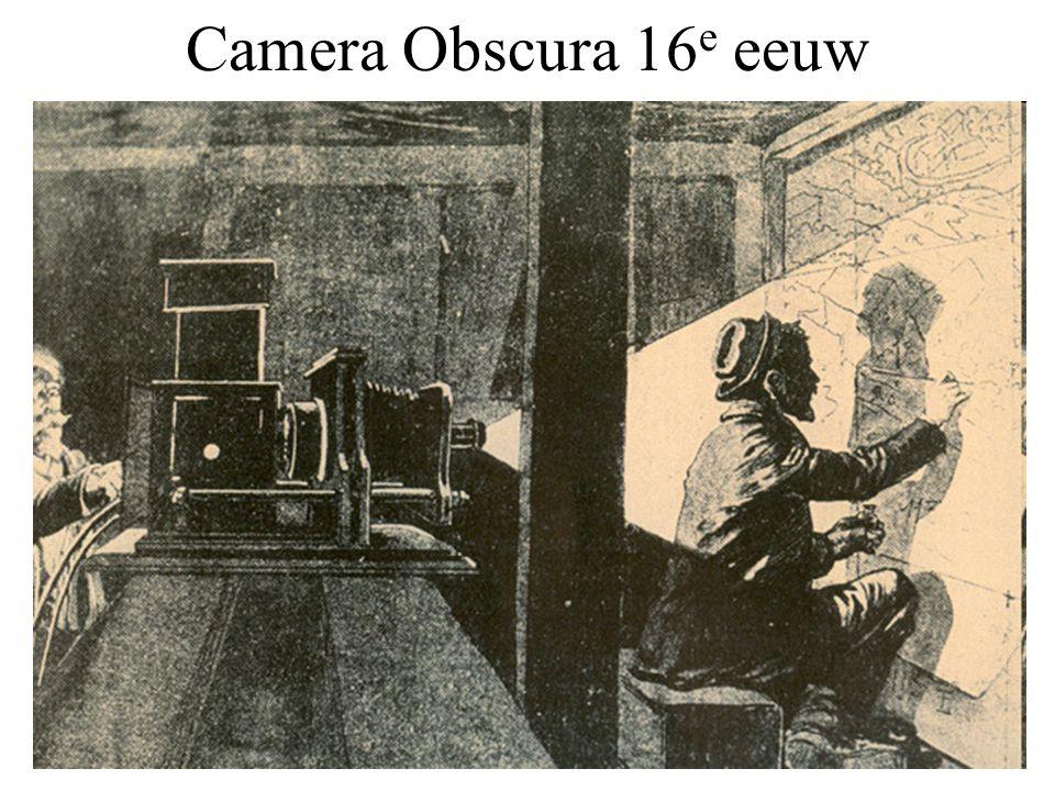 Camera Obscura 16 e eeuw