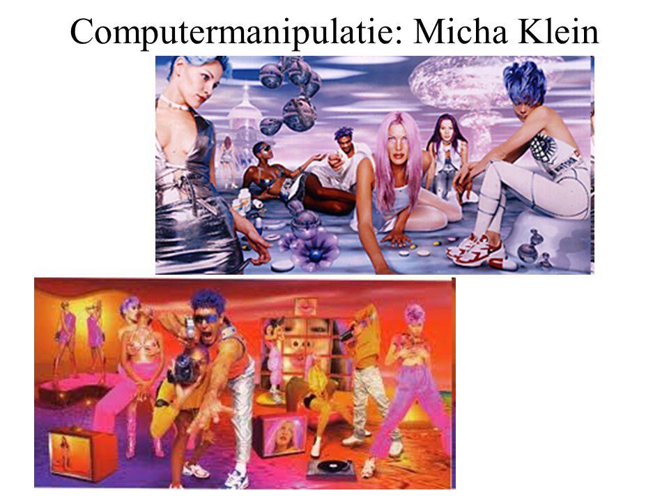 Computermanipulatie: Micha Klein