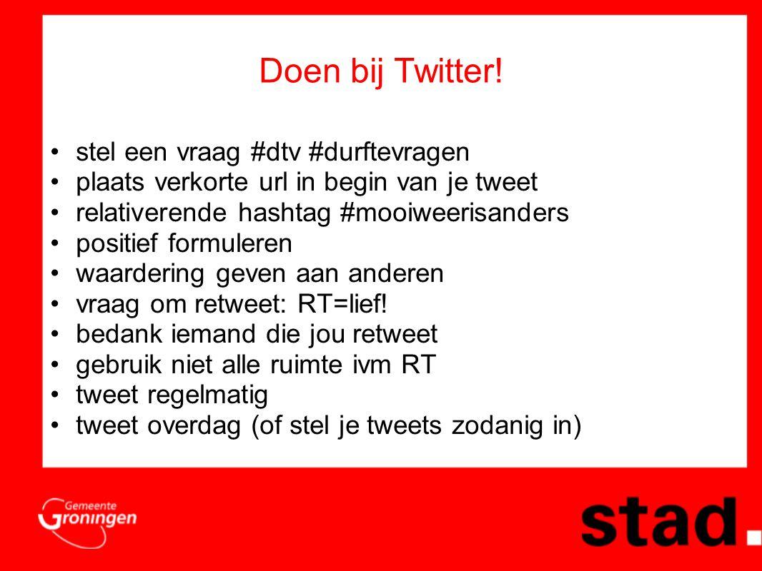 Doen bij Twitter.