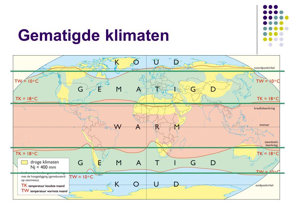 Gematigde klimaten