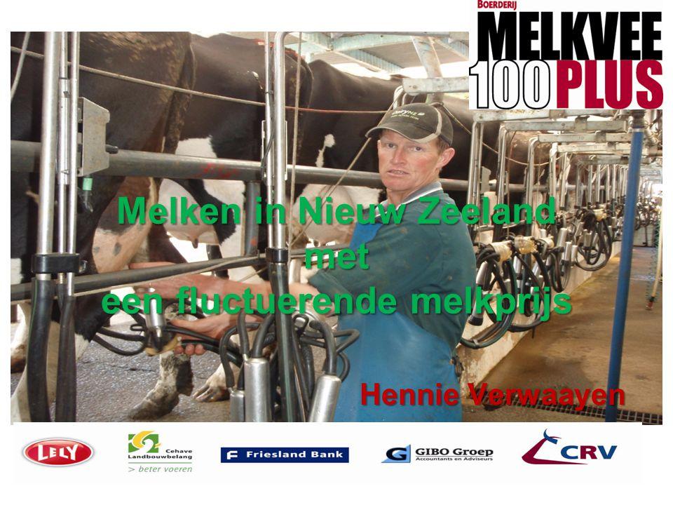 Melken in Nieuw Zeeland met een fluctuerende melkprijs Hennie Verwaayen