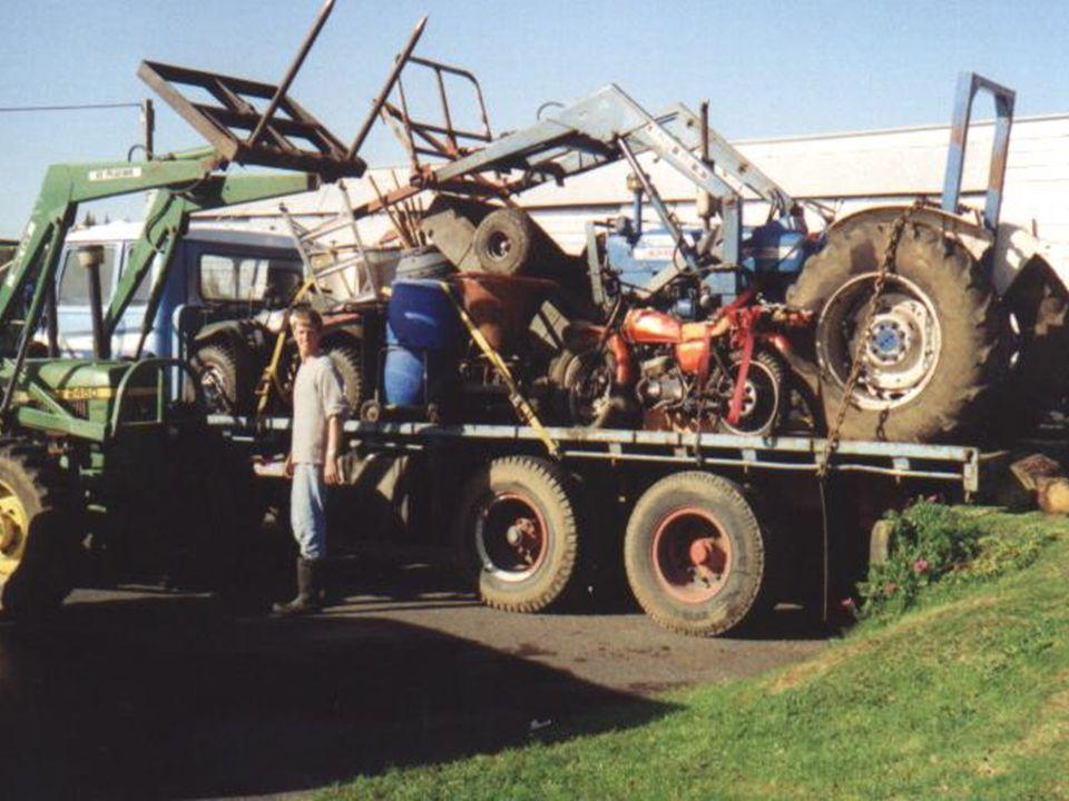 Verhuizen tractor etc