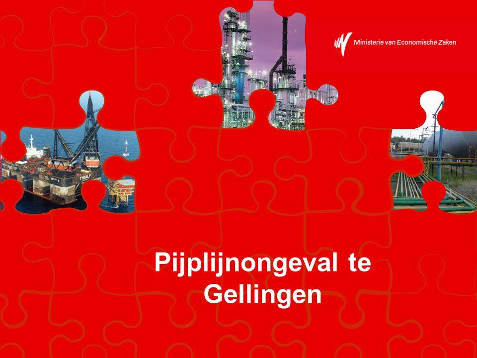 Gasramp te Gellingen Staatstoezicht op de Mijnen 12-11-20082 Gasnet in België Gellingen