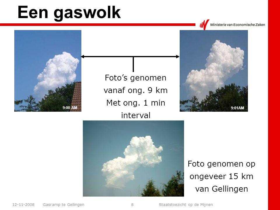 Gasramp te Gellingen Staatstoezicht op de Mijnen 12-11-20089 Hoogte max.