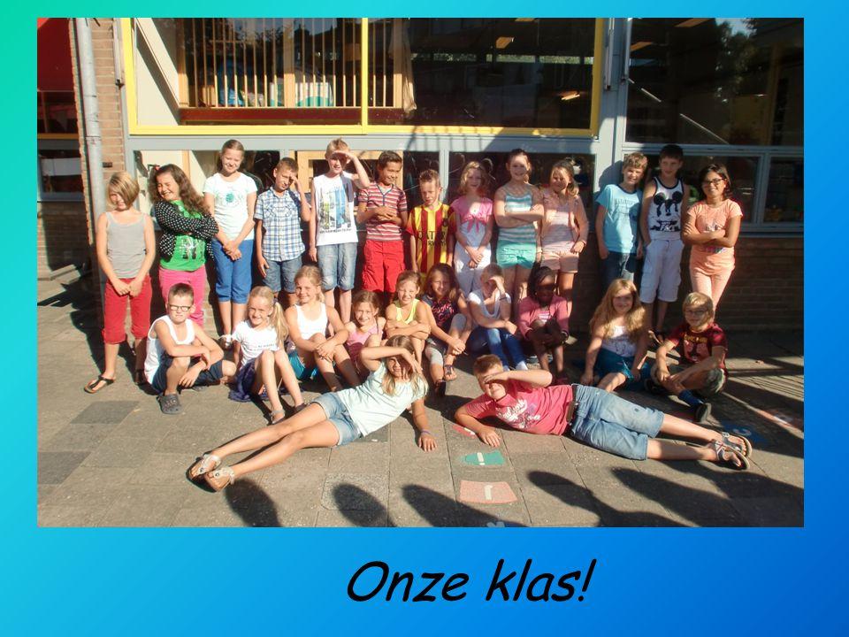 Onze klas! foto
