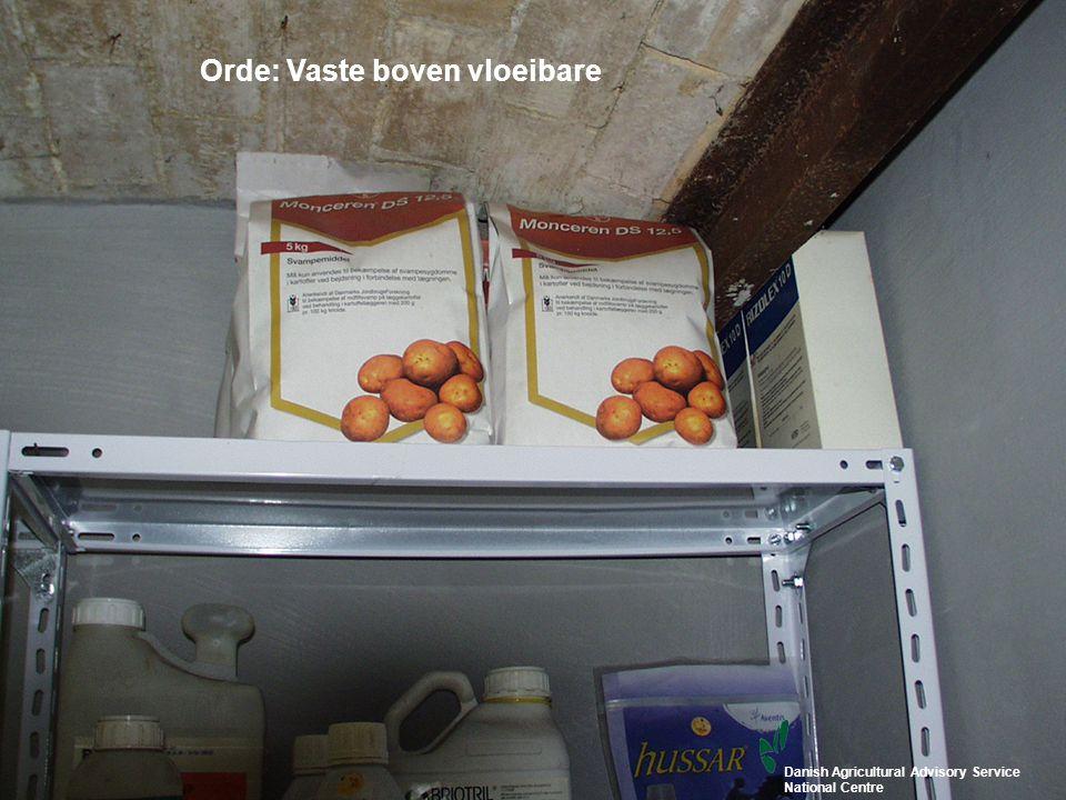 15 www.topps-life.org Orde: Vaste boven vloeibare Danish Agricultural Advisory Service National Centre